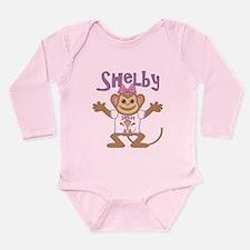 Little Monkey Shelby Long Sleeve Infant Bodysuit
