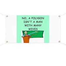 funny math joke Banner