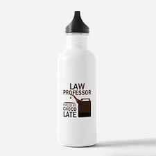 Law Professor (Funny) Gift Water Bottle