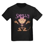 Little Monkey Shelly Kids Dark T-Shirt