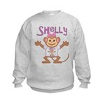 Little Monkey Shelly Kids Sweatshirt