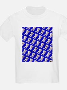 Munchin Maltese Blue De Women's Cap Sleeve T-Shirt