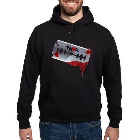 Emo Razor Blade Hoodie (dark)