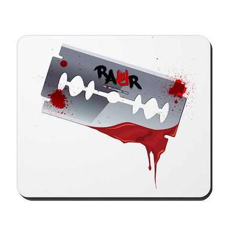 Emo Razor Blade Mousepad