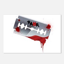 Emo Razor Blade Postcards (Package of 8)