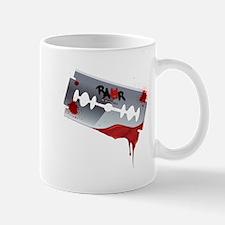 Emo Razor Blade Mug