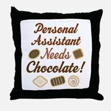 Personal Assistant Gift Funny Throw Pillow