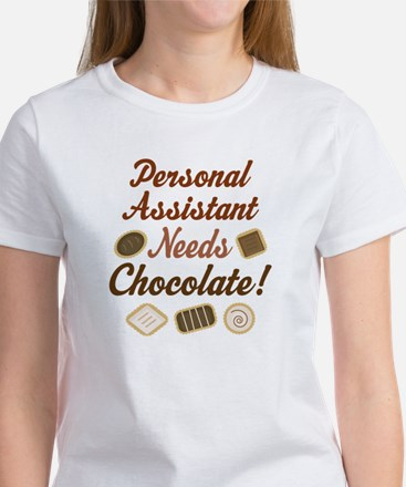 Personal Assistant Gift Funny Women's T-Shirt