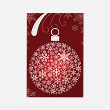 Snowflake Ornament Christmas Magnet