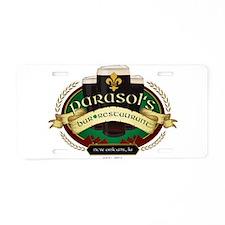 Cute Bars Aluminum License Plate