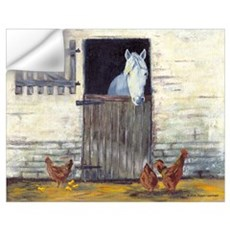 Horse in Stall Wall Decal