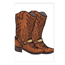 Cowboy Boots Postcards (Package of 8)