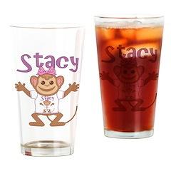 Little Monkey Stacy Drinking Glass