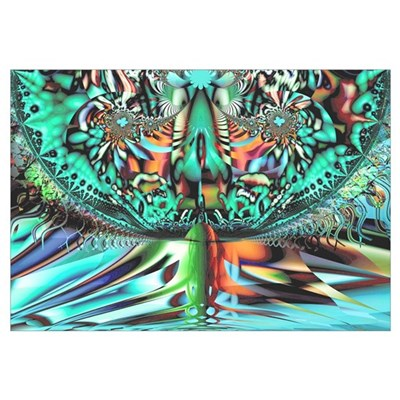 """Chalice"" Fractal Art Canvas Art"
