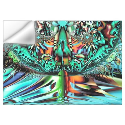 """Chalice"" Fractal Art Wall Decal"