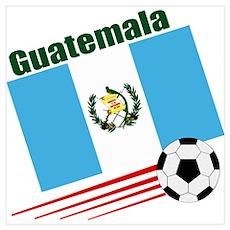 Guatemala Soccer Team Poster
