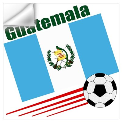 Guatemala Soccer Team Wall Decal