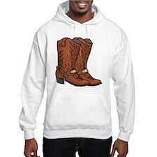 Cowboy Boots Hoodie