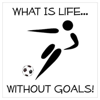 Soccer...Goals! Poster