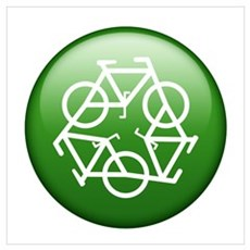 Go Green- Bike Poster