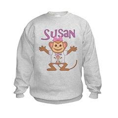 Little Monkey Susan Sweatshirt