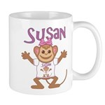 Little Monkey Susan Mug