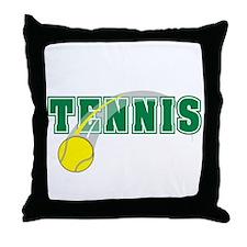 Tennis! Throw Pillow