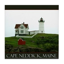 Cape Neddick, Maine Tile Coaster
