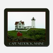 Cape Neddick, Maine Mousepad