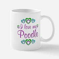 Love My Poodle Mug