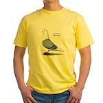 Blue Saddle Homer Yellow T-Shirt