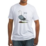 Blue Saddle Homer Fitted T-Shirt