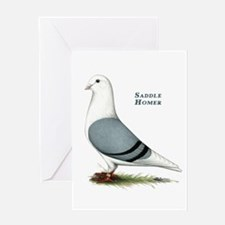 Blue Saddle Homer Greeting Card