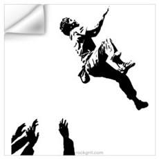 Bouldering Wall Decal