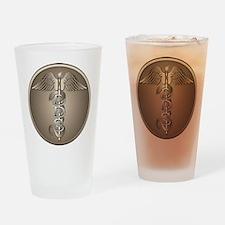 DDS Caduceus Drinking Glass