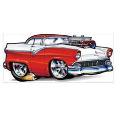 1956 Ford Framed Print