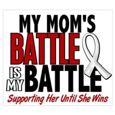 My Battle Too 1 PEARL WHITE (Mom) Prin Canvas Art