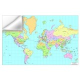 Map Wall Decals