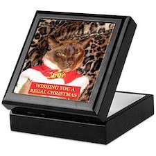 FPG Xmas Cat II txt - Keepsake Box