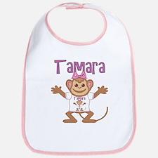 Little Monkey Tamara Bib
