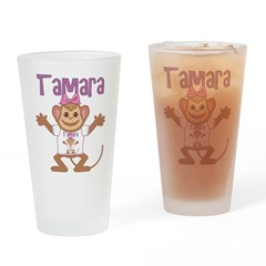 Little Monkey Tamara Drinking Glass