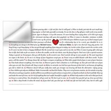 All 50 Heart Wall Decal