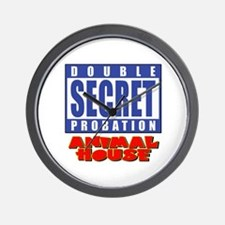Double Secret Probation Animal House Wall Clock