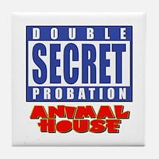 Double Secret Probation Animal House Tile Coaster