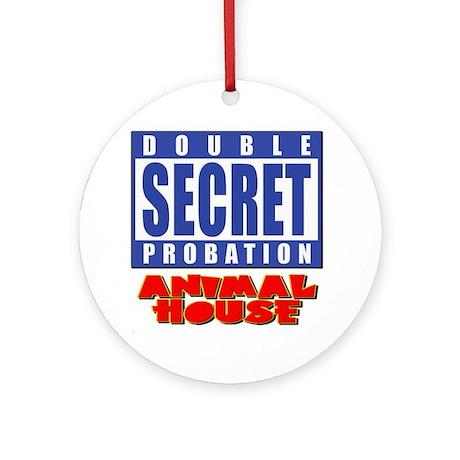 Double Secret Probation Animal House Ornament (Rou