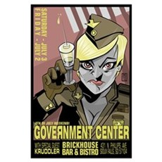 Government Center Print Poster