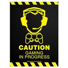 Gaming In Progress Poster