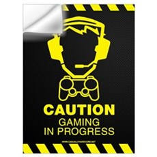 Gaming In Progress Wall Decal