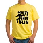 Shufflin Yellow T-Shirt