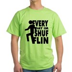 Shufflin Green T-Shirt